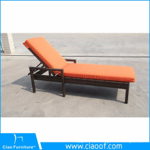 China Company Wholesale Cheap Outdoor Wicker Patio Furniture Chaise